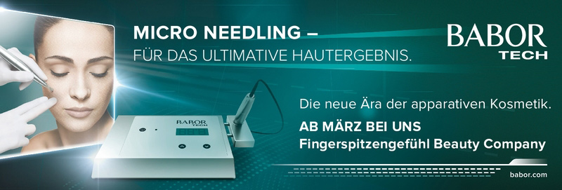 Babor MICRO NEEDLING - schonende, nicht-invasive Anti-Aging-Behandlung